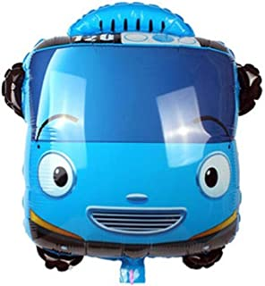 Tayo the little bus Helium Balloon 24 inch Birthday Decorations Picnic Party Supplies Baby Showers