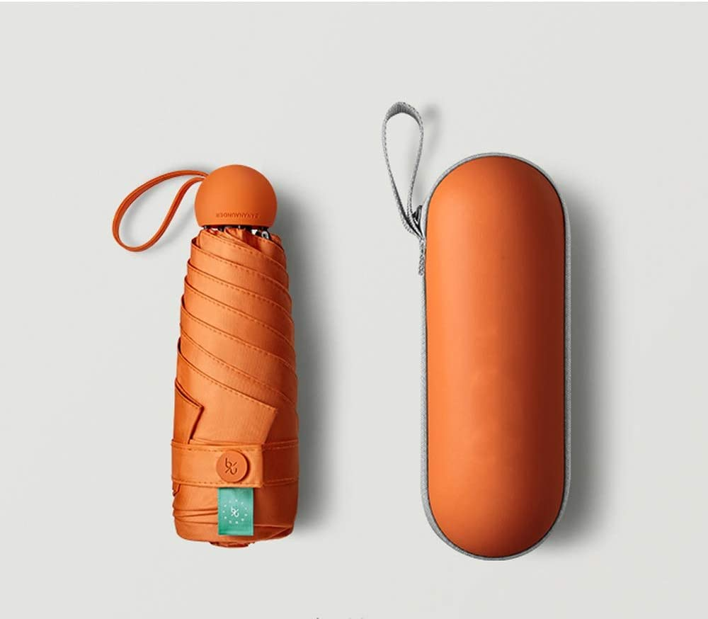 XSL LSX-Rain Gear Capsule Umbrella Mini rain Ultra New product! New type Light Dual-us Classic