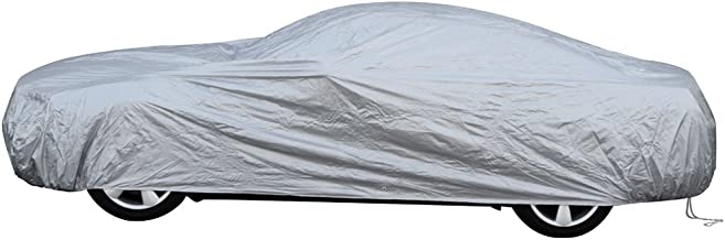 OxGord Solar-Tech Reflective Car Cover - 100 Sun-Proof - Best Reflective Method - Ready-Fit/Semi Glove Fit - Fits up to 204 Inches