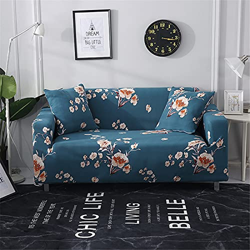 DHHY All-Inclusive-Sofabezug Mit Geometrischer Linie, Stretch-Sofabezug Aus Polyesterfaser, Antifouling- Und Staubdichter Sofabezug 1 2 3 4-Sitzer 3-Seater 190-230cm