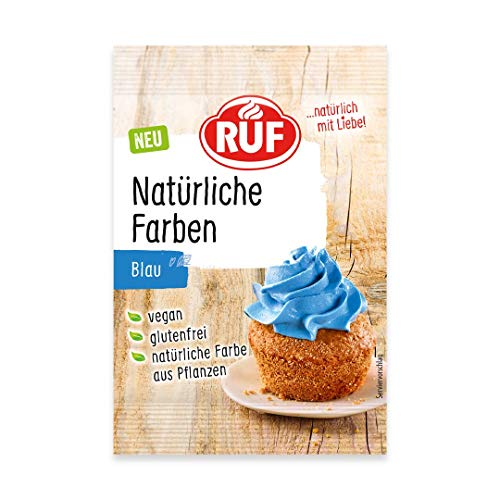 RUF Natürliche Lebensmittelfarbe blau, 8 g