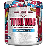 Redcon1 - Total War - Preworkout - All New (15 Servings) Boost Energy, Long Lasting Endurance, Laser Like Focus, Citrulline Malate, Beta-Alanine, Keto Friendly, (Rocket Bomb)