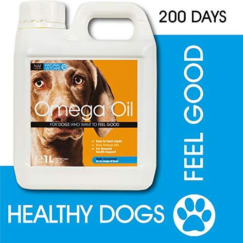 Natural VetCare Veterinary Strength Omega Oil Dog Supplement, 1000 ml
