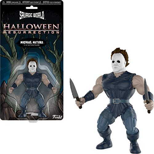 Funko 30507 Savage World: Halloween: Michael Myers, Multi