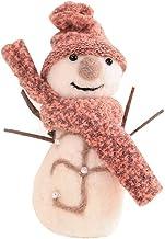PRETYZOOM Adorno de mesa em forma de boneco de neve de Natal, enfeite de mesa, acessório de fotografia para festa em casa...