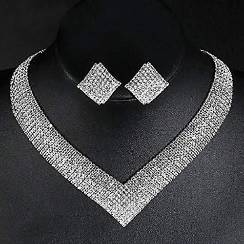 QLSchmuck Diamantes Artificiales Transparentes, Joyas, Colgantes, Colgantes, lagrimas, aretes, Joyas, Accesorios, Cuadrados,...