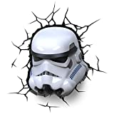 Star Wars 3DLIGHTFX-Lámpara 3D SW Stormtrooper, Multicolor, 570