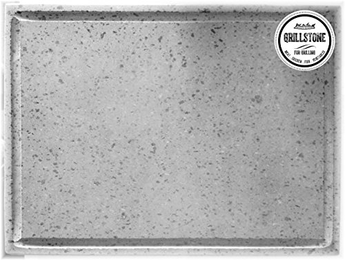 GRILLSTONE Grillplatte, Pizzaplatte Lava Maße 50 x 40 x 2 cm
