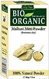 INDUS VALLEY Indus 200G Bio Multani Mitti Tonmehl 200 Gramm Fullers Erde Lehm Für Die Hautpflege Und Haarpflege Bentonitton