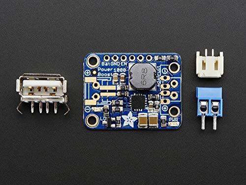 Adafruit PowerBoost 1000Basic–USB-Aufwärtswandler 5V @ 1000mA ab 1,8V+