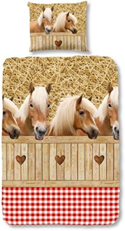 Good Morning Horses Duvet 140 X 200 220 cm