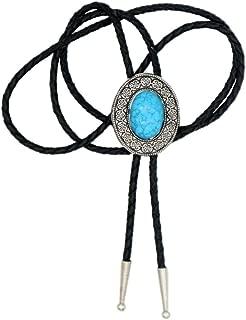 Native American Art Indian Stone Necklace Bolo Tie