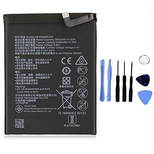 Ellenne Batería compatible con Huawei Ascend Mate 9 Mate 9 PRO HB396689ECW de alta capacidad 4000 mAh con kit de desmontaje incluido