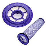 Replacement for Dyson DC41,DC65,DC66 Hepa Post-Motor Filter & Pre-Motor Filter,Multi Floor,Animal and Ball Vacuums.Compatible Part#920769-01&920640-01…