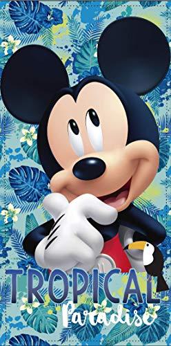 TEXTIL TARRAGO Toalla de Playa Mickey Mouse 70x140 cm 100% Polyester ET4210-2