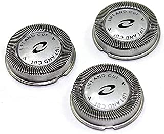New Set Of HQ3 3x Replacement Shaver Heads compatible with Philips Norelco Hq56 Hq55 Hq4 Hq3