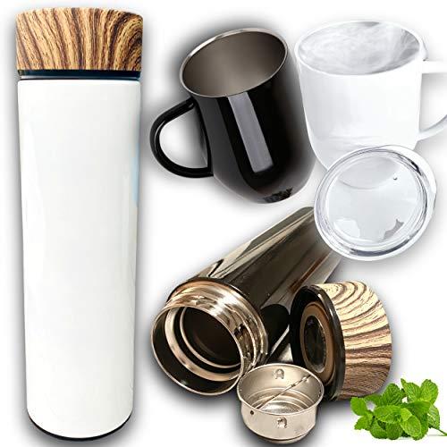 Générique - Bouteille thermos + tasse mug isotherme avec filtre infuseur