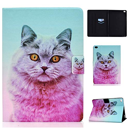 WHWOLF Suitable for iPad Air/iPad Air2 Case (9.7') Tablet PU Leather Folio Protective Cover with Multiple Viewing Angles -sd34