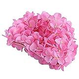 Moresave Damen Blumen Lange Haarpflege Bademütze Hut Frauen Casual Sport