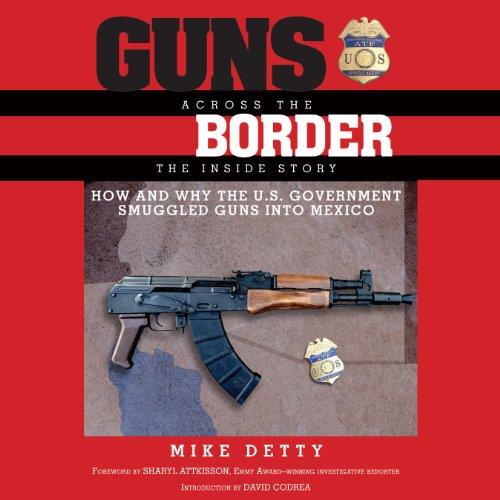 Guns Across the Border audiobook cover art