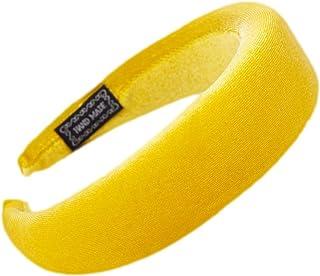 Siwetg - Cerchietto per capelli da donna, imbottito ed elastico, in velluto lucido, morbido, colorato, per feste, 11 color...