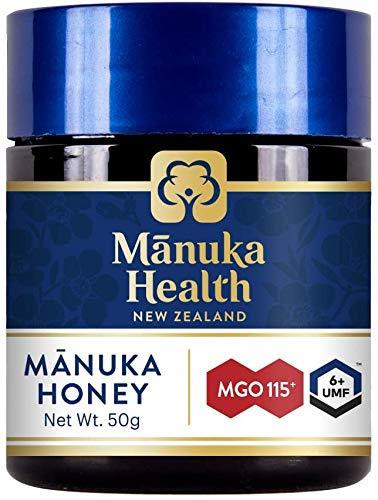 マヌカヘルス マヌカハニー MGO115+ / UMF6+ 50g 無農薬確認済み [ニュージーランド産 ] [並行輸入品]
