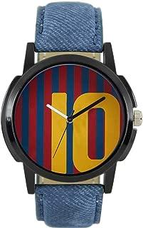 Rathod Enterprise Quartz Movement Analogue Multicolour Messi Dial Men's Watch RE51