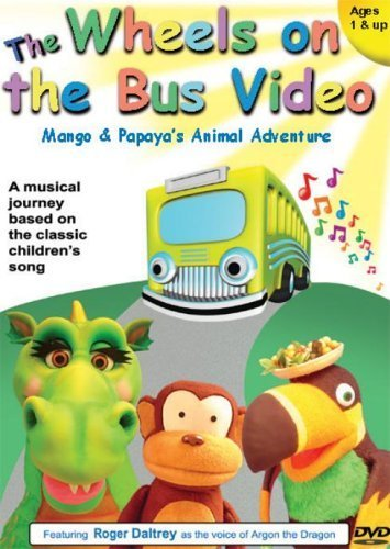 The Wheels On The Bus - Mango And Papaya\'s Animal Adventure [DVD] [UK Import]