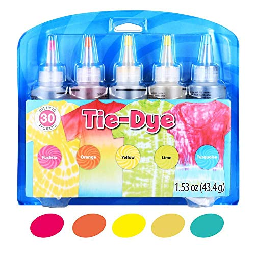 Paint Set Tie Dye Kit Dye Kit DIY Tie Dye Set Hand Tool Dye Dye Pack of Old...