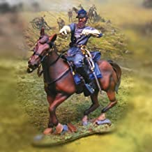 American Civil War Toy Soldiers Collectors Showcase Confederate General Stonewall Jackson Painted Metal Figure 1/32 Scale