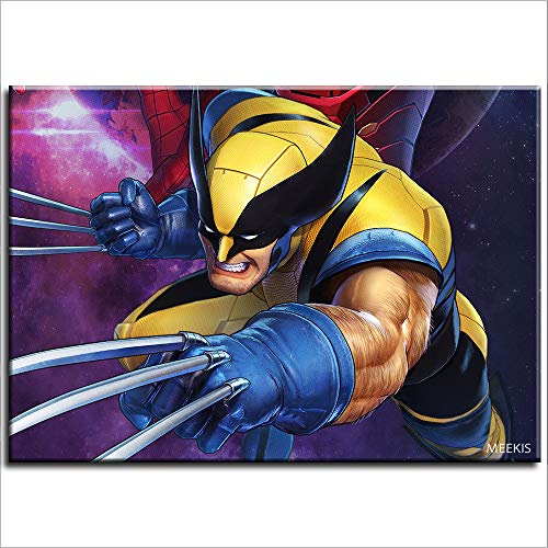 Pintura digital Marvel Ultimate Alliance 3 Bolsa de lona Dark Order por pintura digital 40X50 (Sin marco)
