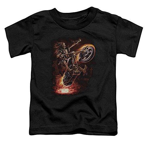 Anne Stokes - - Les tout-petits Hellrider T-shirt, 4T, Black