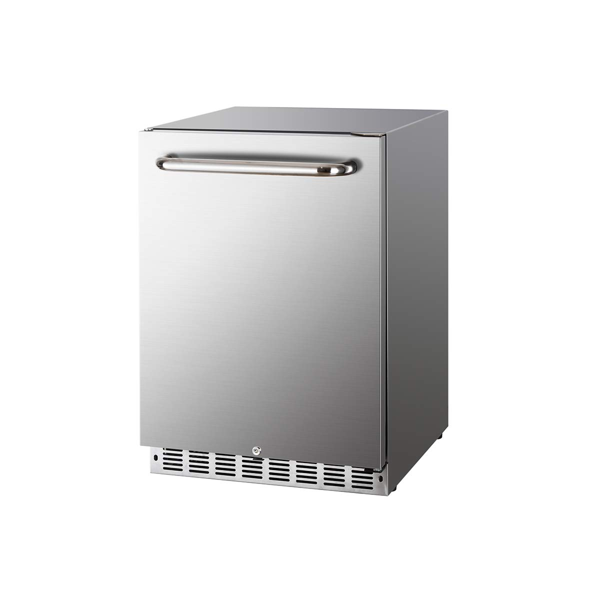 HCK Refrigerator Beverage Reversible Stainless