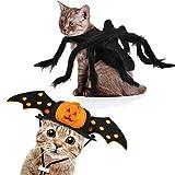 Set de Disfraces de Halloween de Perro Mascota Incluye Sombrero de Halloween de Mascotas Disfraces de Mascota Araña para Decoración de Disfraces Destivos de Mascota Accesorios de Cabello de Cachorros