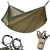 Legit Camping Hammock - Portable Hammock - Travel Hammock - Hammocks for Outside - Double Hammock - Outdoor Hammock - 2 Person Hammock - Tree Hammock - Hammock Camping