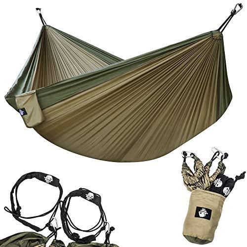 Legit Camping Hammock - Portable Hammock - Travel Hammock - Hammocks for Outside - Double Hammock -...