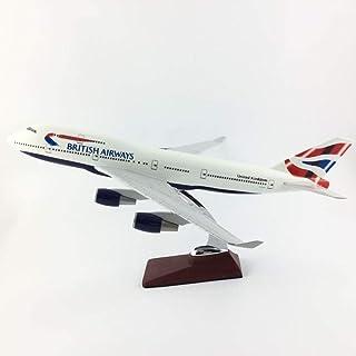 B747ブリティッシュエアウェイズ747 45-47CM 1:150合金航空機モデルコレクションモデルおもちゃギフト