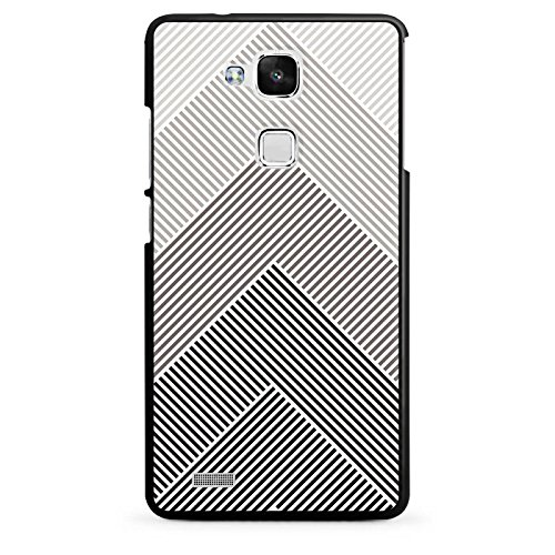 DeinDesign Huawei Ascend Mate 7 Hülle Case Handyhülle Muster Schwarz Pattern