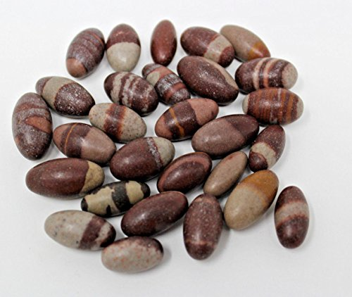 Set of Three Small Pocket Size Shiva Lingam