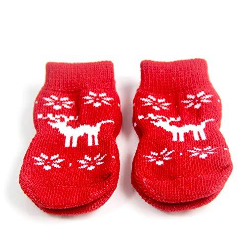 Unknow Costumi Puppy Pet Natale Forniture Cani Gatti Natale Calza della Befana Personalizzati Dog Stocking Cani Decorazioni di Natale Pet Xmas Festival Dress Up