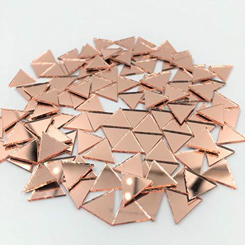 Mosaikfliesen, klein, dreieckig, 12 mm, 120 Stück