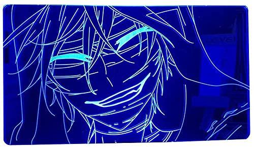 HMWL Anime 3D Light Angels of Death for Kids Dormitorio Decoración Night Light Manga Regalo para su habitación Lámpara de Escritorio Ángeles de la Muerte