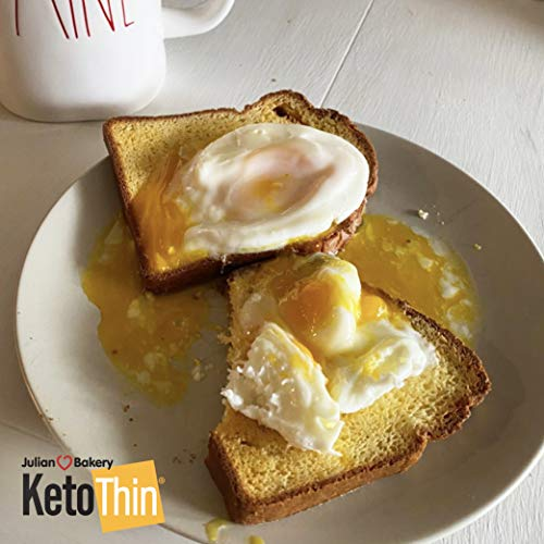 Keto Thin® | Bread | 1 Carb | Gluten-Free | Grain-Free | (0 Net Carbs) | 100% Keto | (3 Pack)