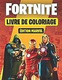 Fortnite Livre de coloriage (éditon Marvel ): Plus de 50 Skins Fortnite Chapitre 2 à...