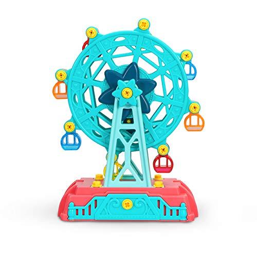 COGO MAN Toys Ferris Wheels Toys Amusement Park Camper Playground Carnival Dolls Playset