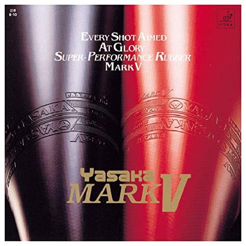 Yasaka Mark V MAX Table Tennis Rubber (Black)