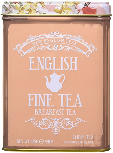 New English Teas English Breakfast Loose Leaf Black Tea, 125...