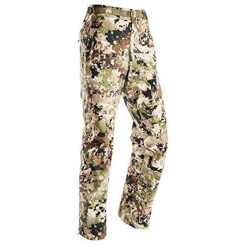 Sitka Women's Hunting Camo Waterproof Cloudburst Pants, Optifade Subalpine, Large