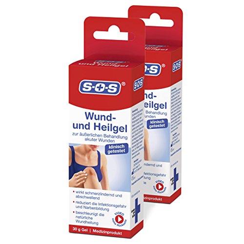 SOS Wund- und Heilgel (2er Pack) - Zur äußerlichen Behandlung akuter Wunden