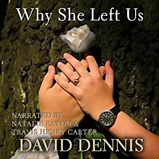 Why She Left Us audiobook cover art